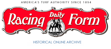 Daily Racing Form Archive